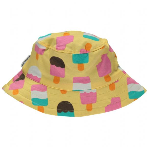 Maxomorra Sun Hat Yellow Ice Cream